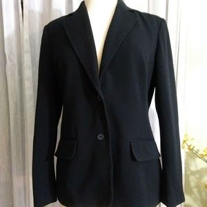 East 5th  size 8 black jacket